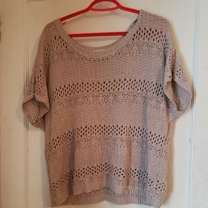 Cute tope knit from garage